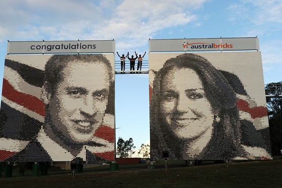 William-and-Kate-brick-murals via Wall Street Journal on Art is Everywhere