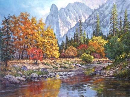 Landscape painting by Donald Neff on Art Is Everywhere