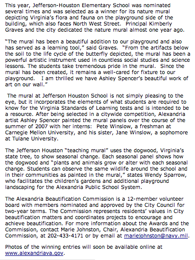 jeff-houston-article cont. Article by Marty DeVine/Alexandria Times