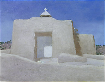 Georgia O\'Keefe, Chapel in New Mexico, Georgia O\'Keefe Museum