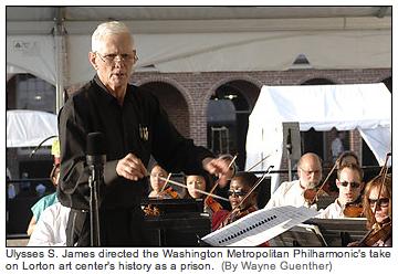 Metropolitan Phiharmonic @ Lorton Prison. Photo by Wayne Guenther