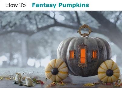 Fantasy pumpkins from Hallmark Magazine