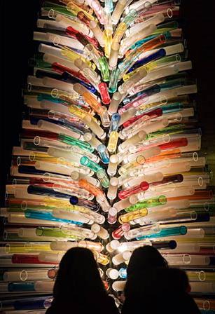 Murano Christmas tree. Photo Sandra Raccanello/4Corners Images