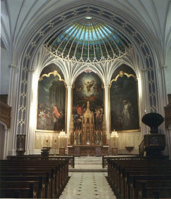 St. Patrick\'s Cathedral in New Orleans. Save Our Lady of Lourdes blog