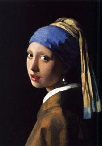 Girl with Pearl Earring by Johannes Vermeer (1655)
