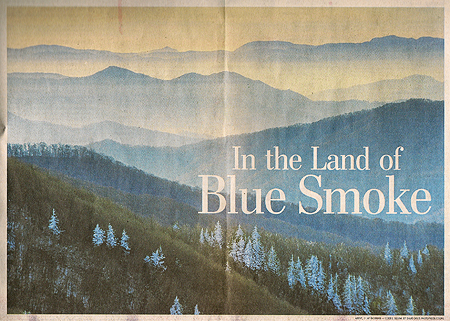 Land of Blue Smoke Photo by Jay Dickman via Washington Post