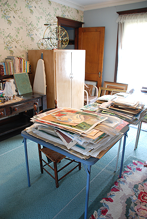 Aunt Katherines studio. Photo by C. Ashley Spencer