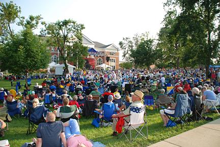 danville brass band festival 09. Photo by C. Ashley Spencer