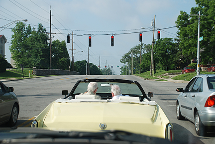 driving-in-ky. Photo by C. Ashley Spencer