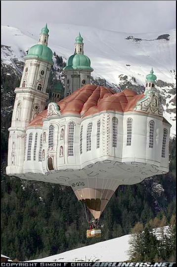 Castle Hot Air Balloon