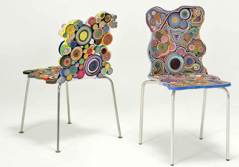 vitra chairs by Fernando and Humberto Campagna via Art Daily