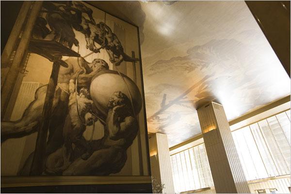 Results of Rockefeller Center Murals Restoration. NY Times