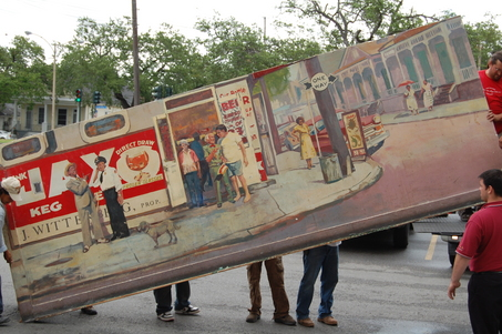 Rock\'n Bowl Mural. Photo by Keith Spera for the Times Picayune