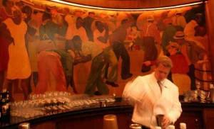 Sazerac Bar in New Orleans\' Roosevelt Hotel via Philly.com