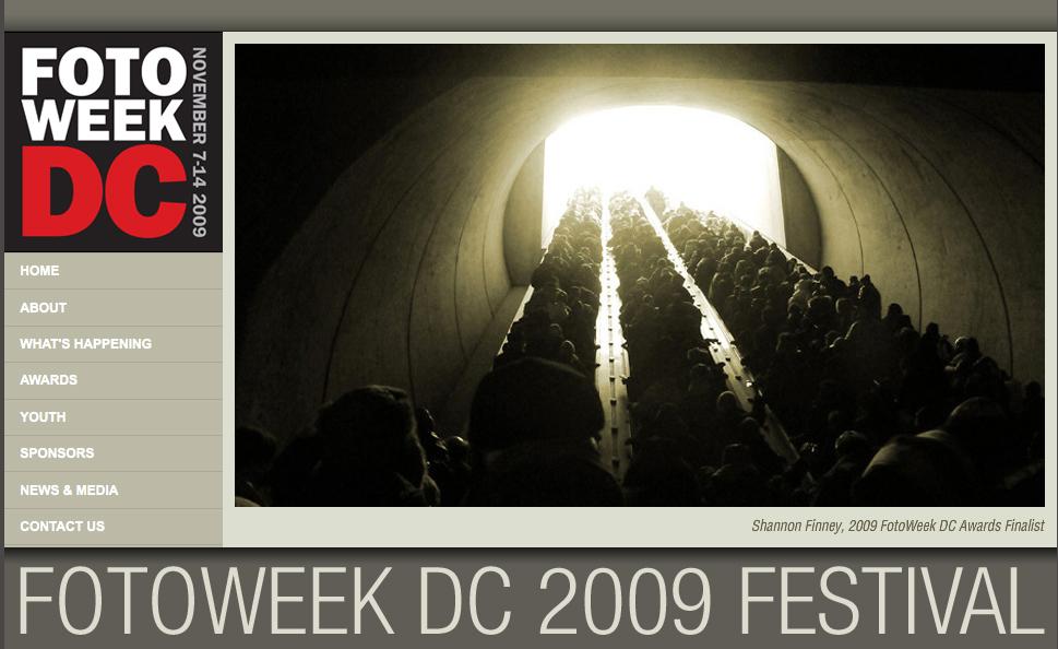 Photo by Shannon Finney, Finalist FotoWeek 2009