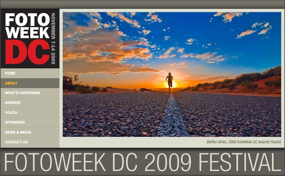 Photo by Steffen Binke, Finalist FotoWeek 2009