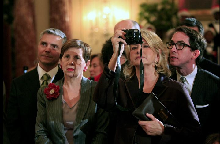 Martha Stewart. Photo by Susan Biddle for Washington Post