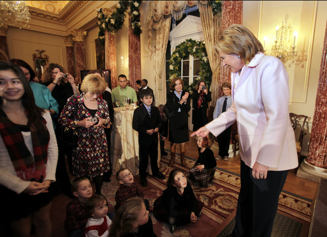 State Department Reception. Photo by Susan Biddle, Washington Post