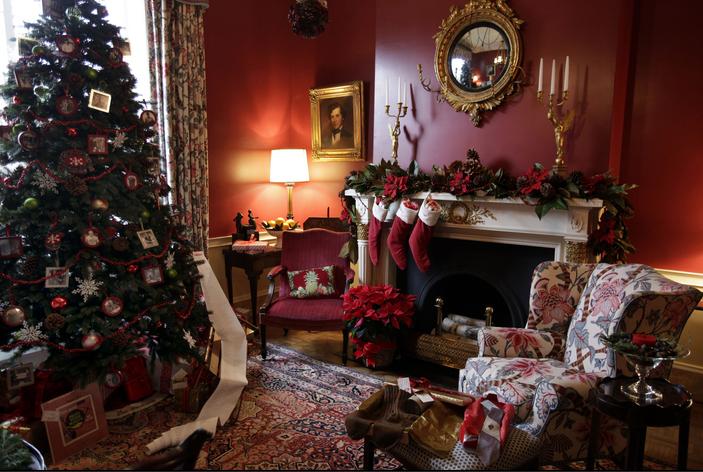 This Old House design Truman Study. Photo Susan Biddle, Wash. Post