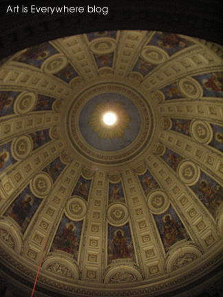 Inside Church Dome. Photo by Peter Spencer for Art Is Everywhere