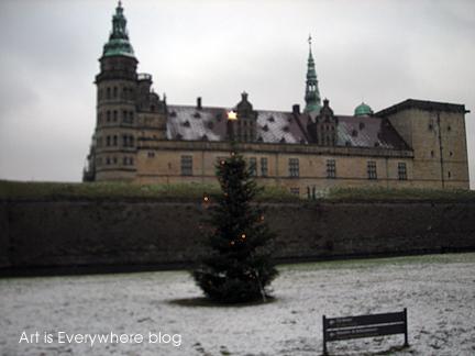 Helsinger or Elsinor Castle. Photo by Peter Spencer for Art Is Everywhere