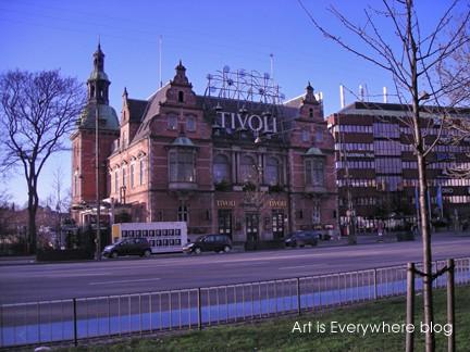 Tivoli Gardens in Copenhagen. Photo by Peter Spencer for Art Is Everywhere
