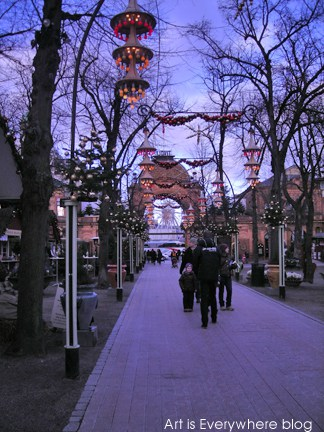 Tivoli Gardens. Photo by Peter Spencer for Art Is Everywhere