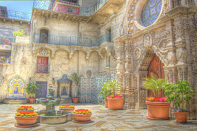 Mission Inn. HDR photo by Joe DiGregoria via article by Daniel Foster