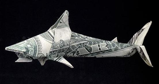 origami-shark by Won Park