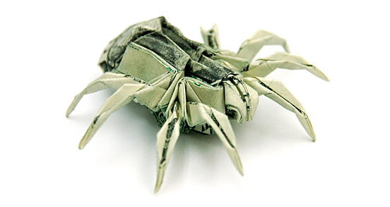 origami-spider by Won Park