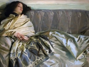 Repose. Painting by John Singer Sargent