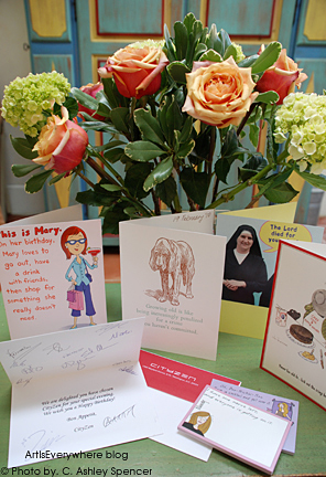 Birthday Flowers & Cards. Art Is Everywhere blog
