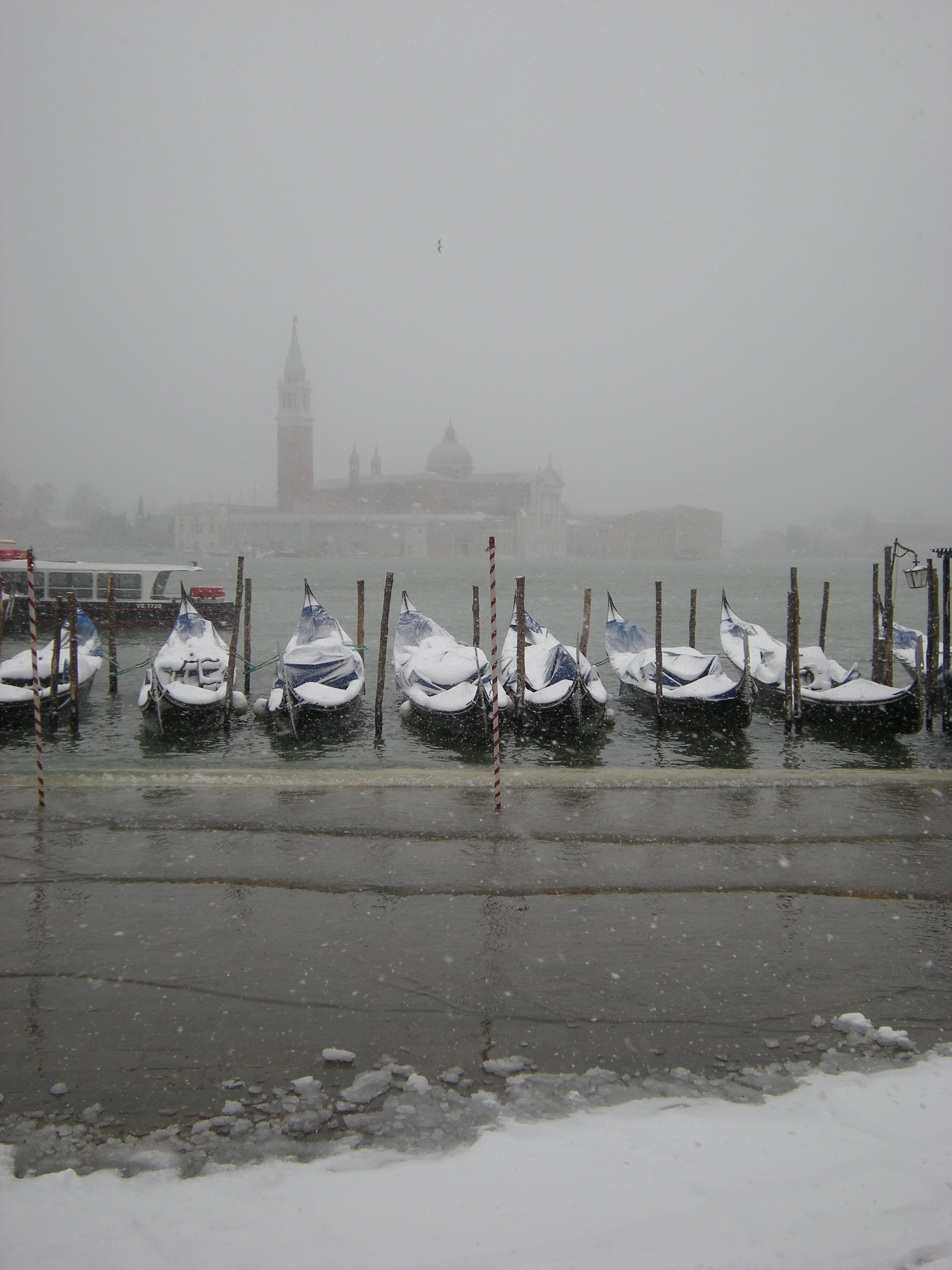 Venice with Snow. Photo © by Piertro deScarpis