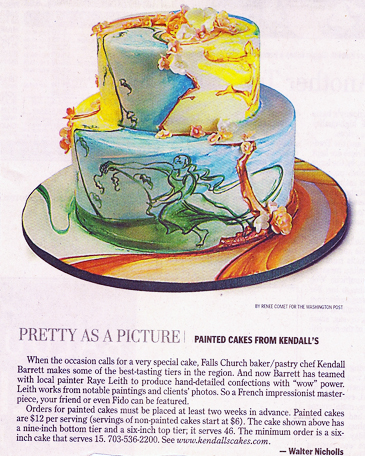 Cakes by Kendall. Photo by Renee Comet for the Washington Post