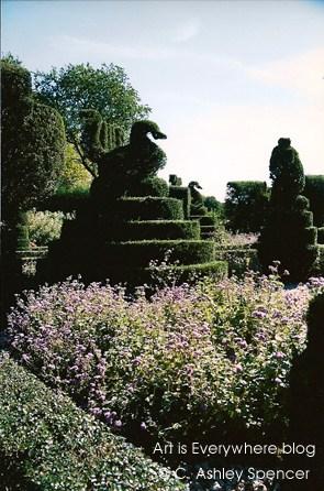 Ladew Gardens. Photo by C. Ashley Spencer/ArtIsEverywhere blog