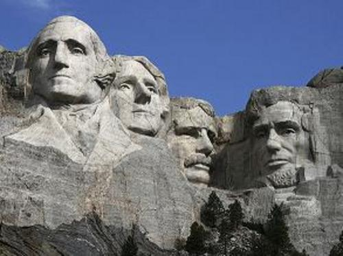 Mt. Rushmore. Photo © by Dean Franklin via Rim of the World blog
