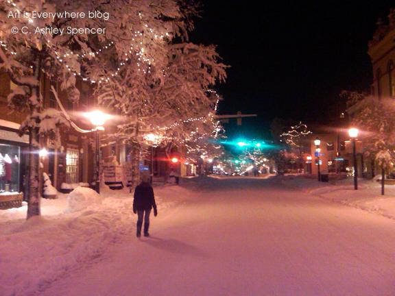 nooneonstreet_27_snow2010_blog. ArtIsEverywhere. Photo Peter Spencer