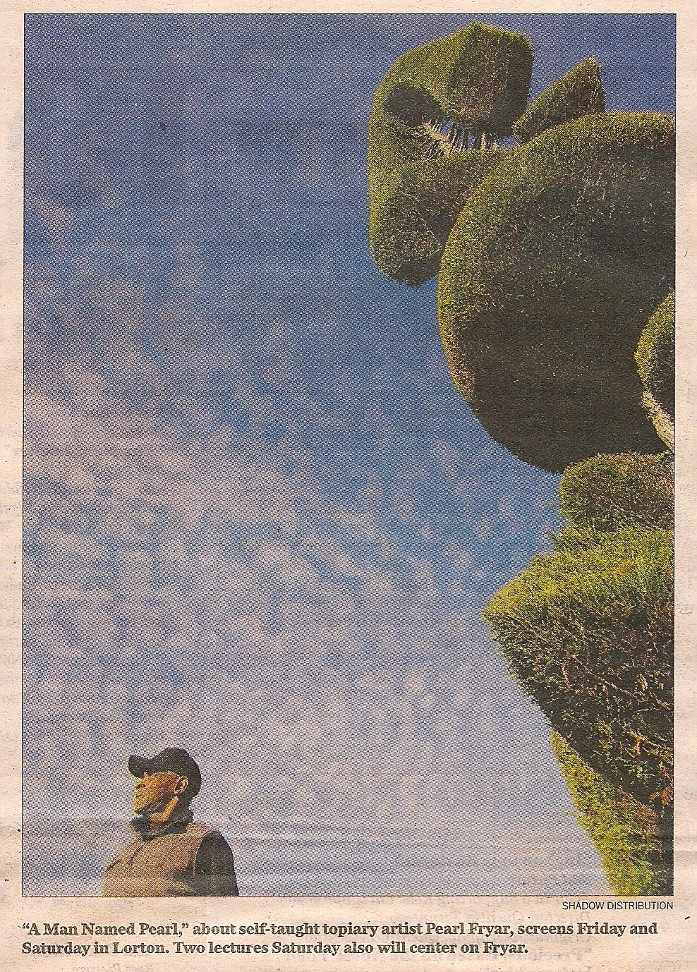 A Man Named Pearl. Photo by Shadow Distribution via Washington Post