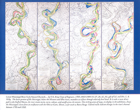 Lower Mississippi RIver Early Stream Channels