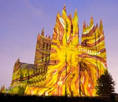 Washington National Cathedral/Lighting to Unite Exhibit