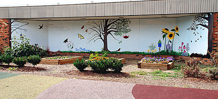 Marvelous Jefferson Houston School Mural And Photo By C. Ashley Spencer Part 18