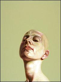 """A.E.#009″ portrait by B.G. Muhn"