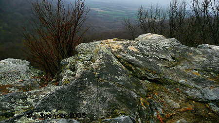 Sewanee Lookout and Valley Below. Photo by Jackson Spencer
