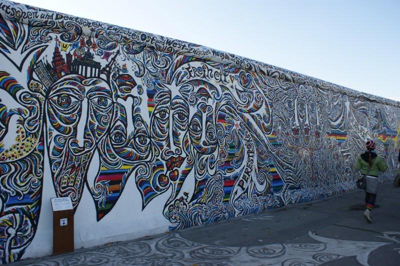 berlin wall muralsartiseverywhere. Black Bedroom Furniture Sets. Home Design Ideas