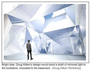 Doug Aitken's Mirrored Hirshhorn Design