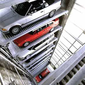 SpaceSaver Parking Design, as seen on Art Is Everywhere blog