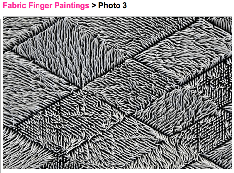 Fabric_FingerPainting_Trendhunter1, Art is Everywhere