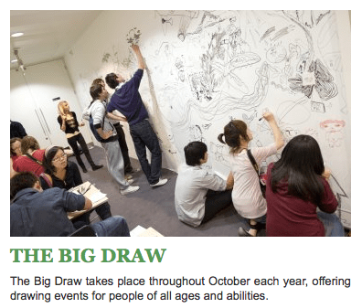 The Big Draw on Art Is Everywhere