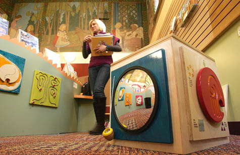 Toronto Library Murals, via National Post, as seen on Art Is Everywhere