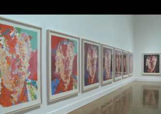 Close_process of print in stages via Corcoran Gallery of Art, on Art is Everywhere